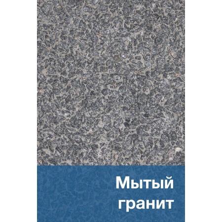 «Мытый гранит» на сером бетоне