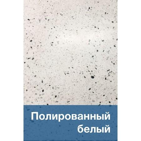 Полированный белый бетон
