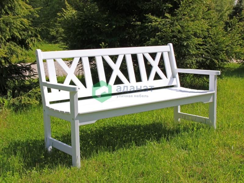 Скамейка «Ливерпуль» садовая