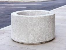Цветочница бетонная «Роза»