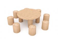 Большой детский столик