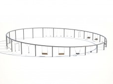 Качели в круге Тип 2