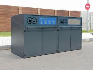 Контейнеры для мусора металлические