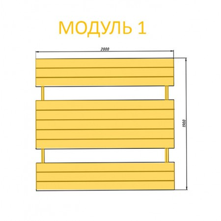 Модуль 1, 1 п.м. (арт. 40036-1)