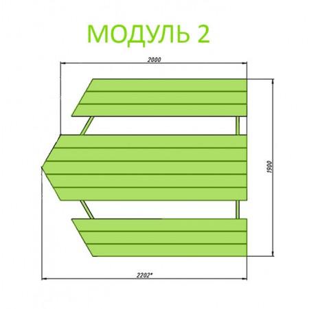 Модуль 2, 1 п.м. (арт. 40036-2)