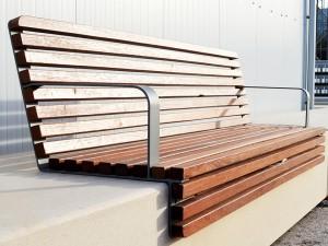 Настилы для подпорных стен и бетонных скамеек