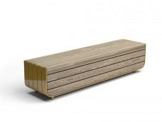 Модульная скамейка «Протей» прямая