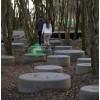 Скамейка «Круг диаметр 600 мм», фото №4