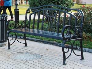 Скамейки кованые