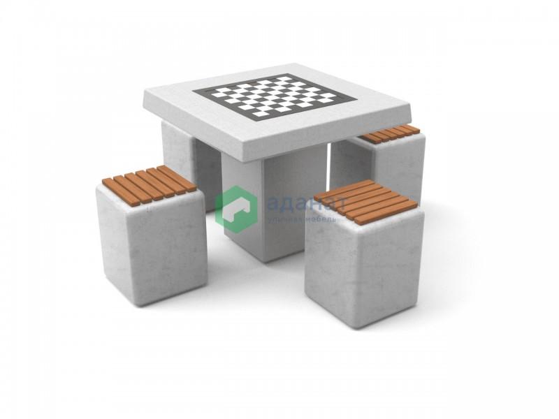 Шахматный стол «Лотос» (комплект)