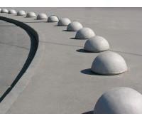 Столбик ограждения декоративный «Полусфера»
