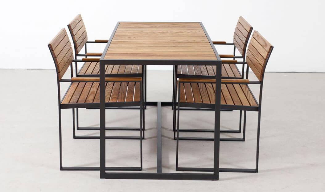 Коллекция мебели для кафе Лион