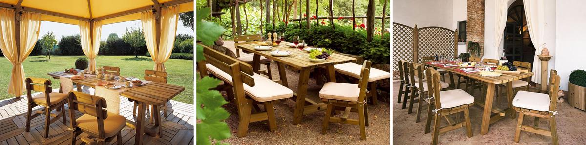 Коллекция садовой мебели Сибириада