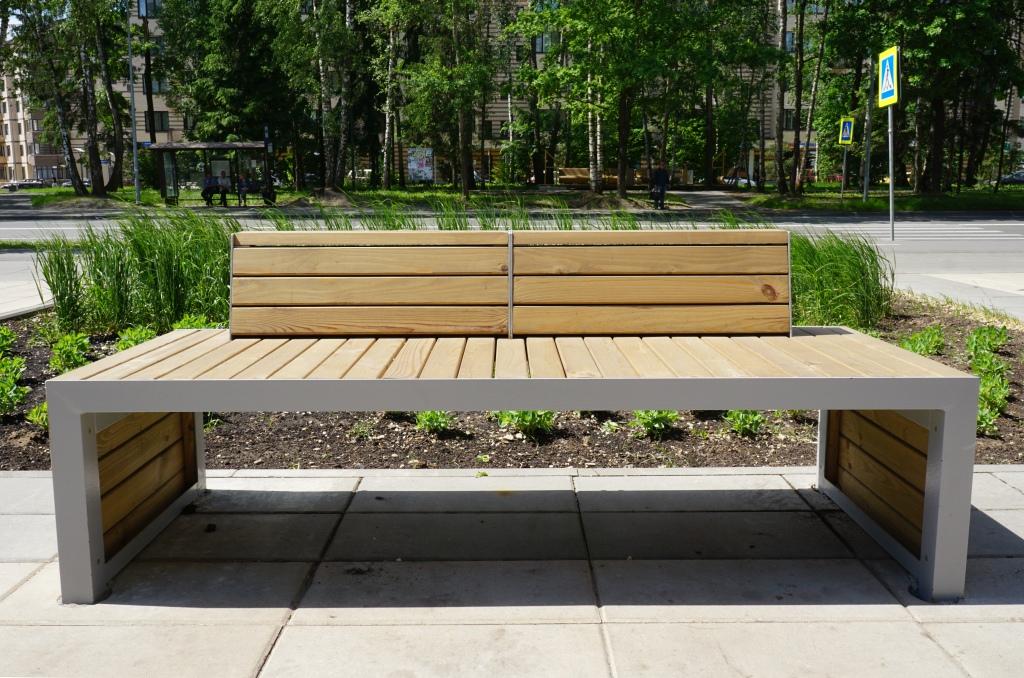 Уличные скамейки от компании Аданат